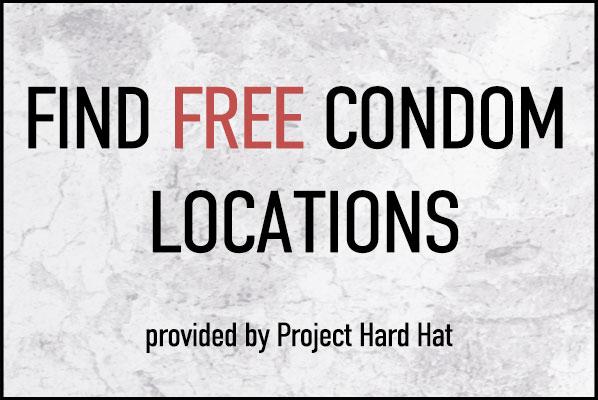 free condom locations